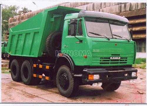 Xe ben KAMAZ 65115 Thùng Tự Đổ 13 Tấn