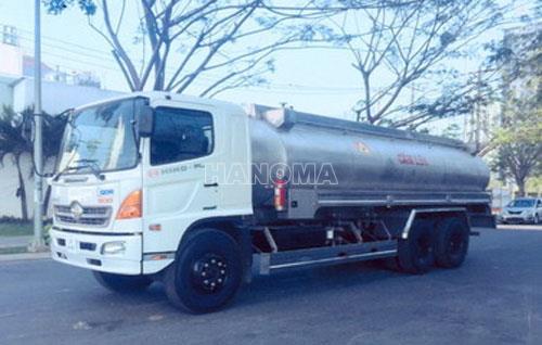 Xe bồn chở hoá chất HINO FL8JTSA Chở Hóa Chất Methyl