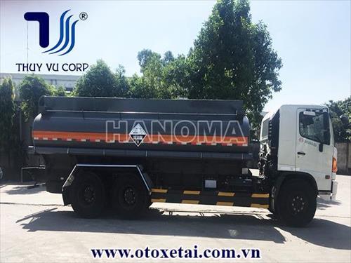 Xe bồn chở hoá chất HINO FL8JTSA 12 Khối