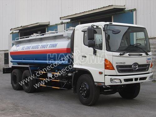 Xe bồn chở hoá chất HINO FM8JNSA/CONECO
