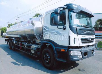 Xe bồn chở xăng, dầu DAEWOO HU8AA Hợp Kim Nhôm 20 Khối
