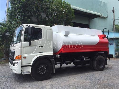 Xe bồn chở xăng, dầu 2019 HINO FG8JJSB 11 Khối
