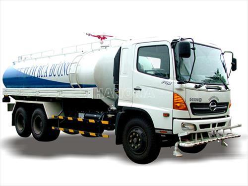 Xe bồn chở xăng, dầu HINO FM8JNSA  18 Khối 15 Tấn