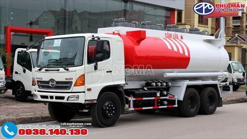 Xe bồn chở xăng, dầu HINO FM8JNSA