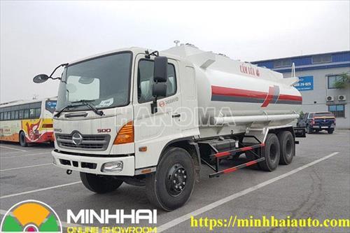 Xe bồn chở xăng, dầu HINO FM8JNSA 6×4/MH-X 19 Khối