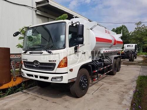 Xe bồn chở xăng, dầu HINO VT/NL 18 Khối