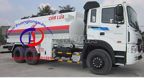 Xe bồn chở xăng, dầu HYUNDAI HD120 6,5 Khối
