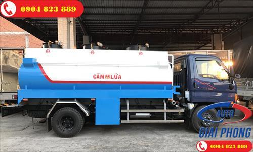Xe bồn chở xăng, dầu HYUNDAI HD120SL 8 tấn 10 khối
