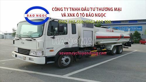 Xe bồn chở xăng, dầu HYUNDAI HD210 13 Khối