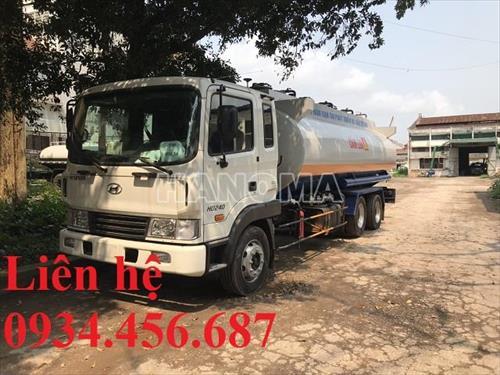 Xe bồn chở xăng, dầu HYUNDAI HD240 D6GA