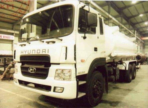 Xe bồn chở xăng, dầu HYUNDAI HD260 14m3