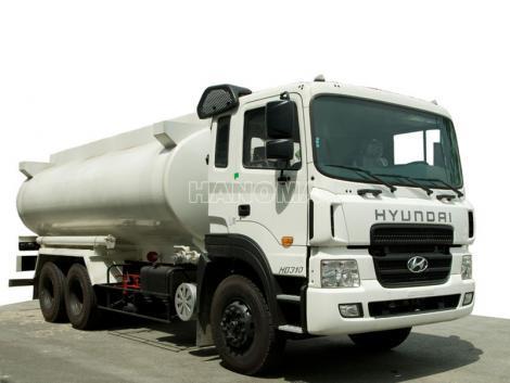 Xe bồn chở xăng, dầu HYUNDAI HD260 15 Tấn