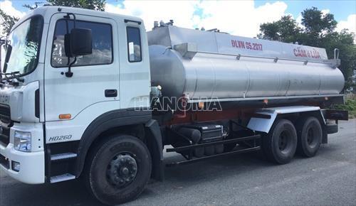 Xe bồn chở xăng, dầu HYUNDAI HD260 BỒN XĂNG DẦU 18M3