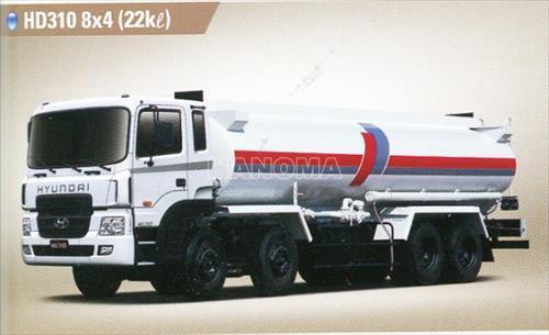 Xe bồn chở xăng, dầu HYUNDAI HD310  17 Tấn