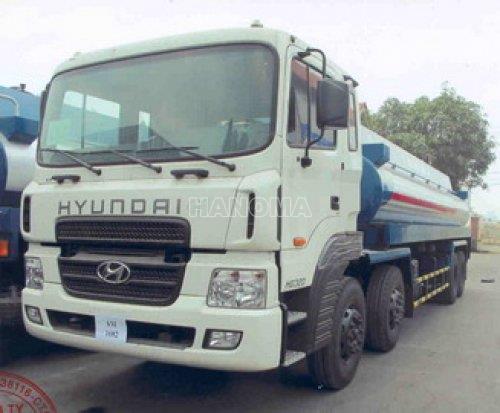 Xe bồn chở xăng, dầu HYUNDAI HD320 16m3