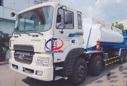 Xe bồn chở xăng, dầu HYUNDAI HD320 22 Khối