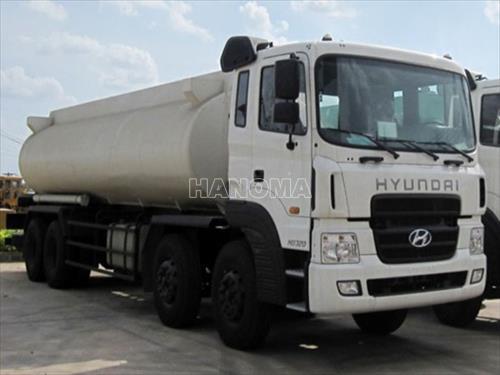 Xe bồn chở xăng, dầu HYUNDAI HD320 BỒN XĂNG DẦU 18M3