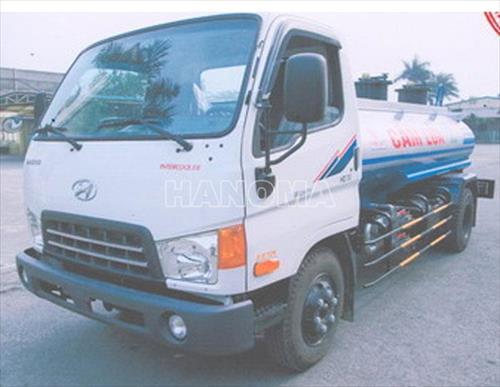 Xe bồn chở xăng, dầu HYUNDAI HD72 4,5 Khối