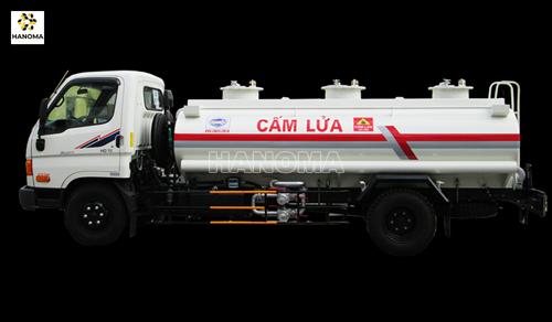 Xe bồn chở xăng, dầu HYUNDAI HD72 XE CHỞ XĂNG DẦU 2018