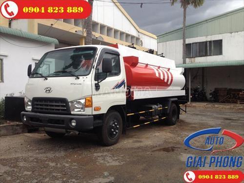Xe bồn chở xăng, dầu HYUNDAI HD800 10 khối