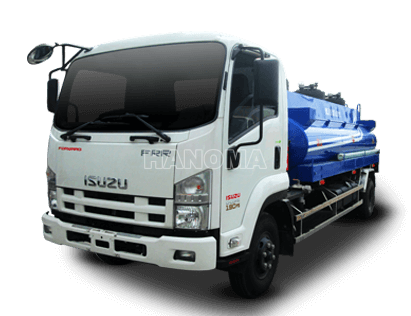 Xe bồn chở xăng, dầu ISUZU QKR77H 3 Khối