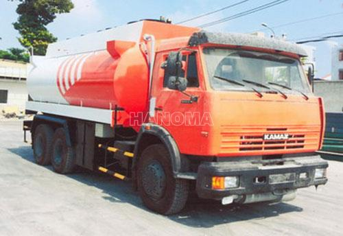 Xe bồn chở xăng, dầu KAMAZ 53229 Xitec 18 Khối