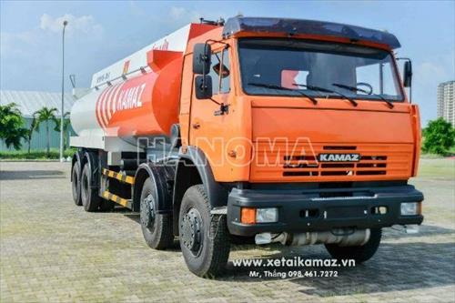 Xe bồn chở xăng, dầu KAMAZ 6540 260HP (8X4) 23M3