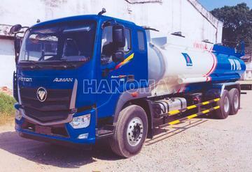 Xe bồn chở xăng, dầu THACO AUMAN C240 18 Khối
