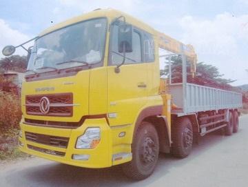 Xe cẩu tự hành 2020 DONGFENG L315 Gắn cẩu Soosan 7 tấn