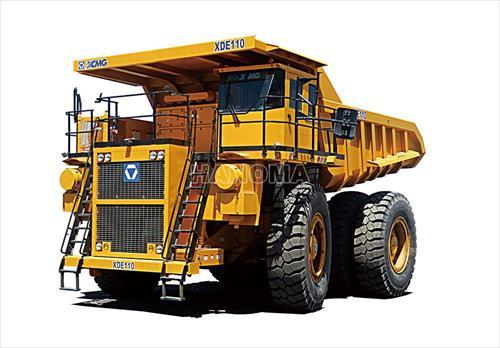 Xe chạy mỏ XCMG XDE110
