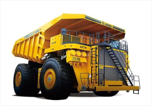 Xe chạy mỏ XCMG XDE400