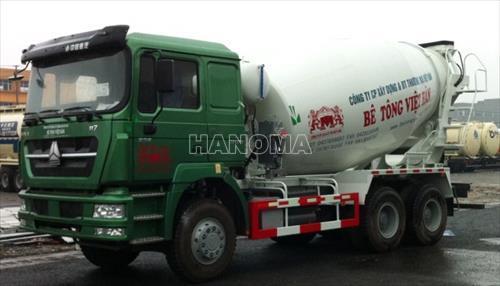 Xe chở bê tông HOWO ZZ5253GJBN3641C 11.98 tấn