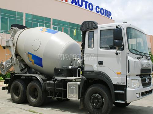 Xe chở bê tông HYUNDAI HD270