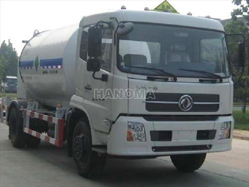 Xe chở khí hoá lỏng DONGFENG DFL1205A8/VL-LO2 bồn chở oxy lỏng DF 2 chân
