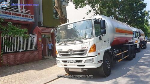 Xe chở khí hoá lỏng HINO FL8JTSA 6X2