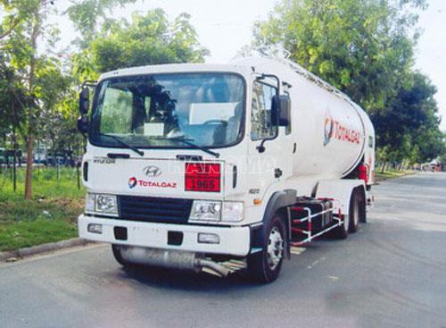 Xe chở khí hoá lỏng HYUNDAI HD210  Khí Gas LPG