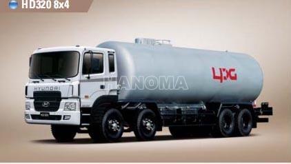 Xe chở khí hoá lỏng HYUNDAI HD320