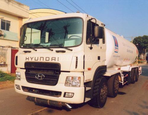 Xe chở khí hoá lỏng HYUNDAI HD360 Khí Gas LPG