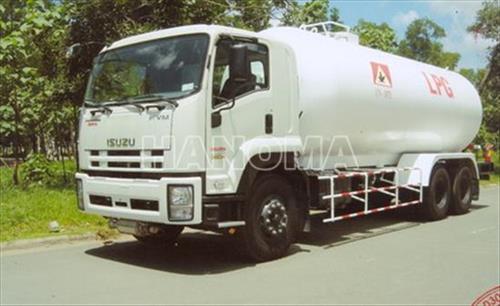 Xe chở khí hoá lỏng ISUZU FVM34T LPG 21 khối