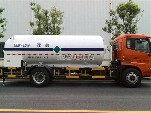 Xe chở khí hoá lỏng TQ SP0122 chở Oxy, Ni tơ, Argon lỏng 8,5 khối