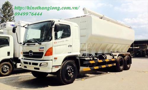 Xe chở thực phẩm HINO FL8JTSA 25 khối chở cám
