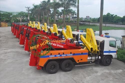 Xe cứu hộ HINO FM8JNSA6X4 Hiệp Hoà - CH 3 tấn