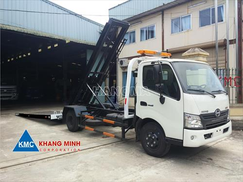 Xe cứu hộ HINO  XZU 720L (màu trắng)