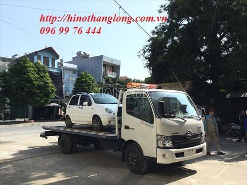Xe cứu hộ HINO XZU730 sàn trượt 5 tấn