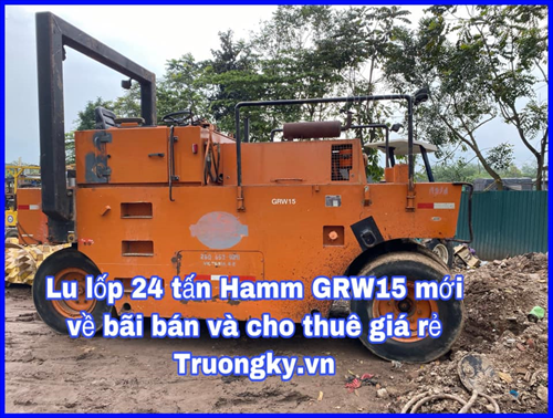 Xe lu tĩnh HAMM GRW15
