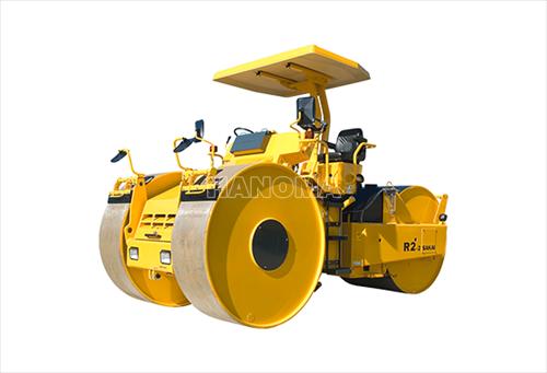 Xe lu tĩnh SAKAI R2H-2 3 bánh thép 14,3 tấn