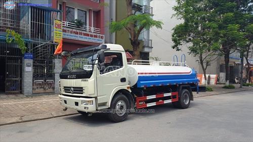Xe phun nước rửa đường DONGFENG CSC5090GSS3 THÙNG 5M3