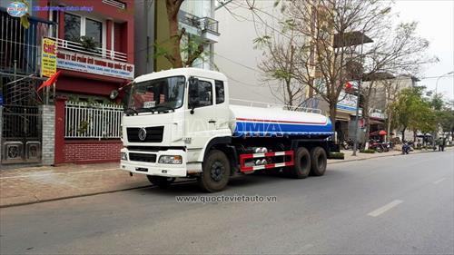 Xe phun nước rửa đường DONGFENG CSC5250GSSD THÙNG 12M3