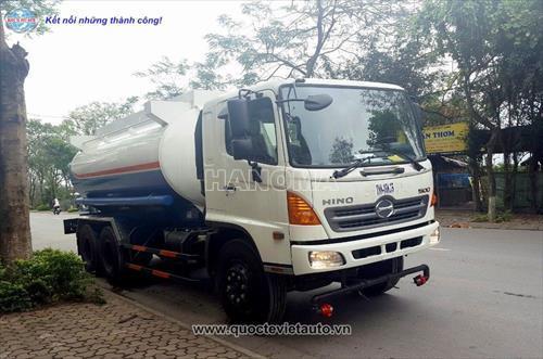 Xe phun nước rửa đường HINO FM8JNSA