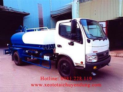 Xe phun nước rửa đường 2019 HINO XZU342L
